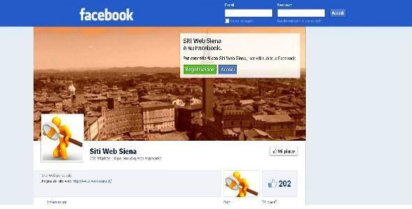 Creare una pagina su Facebook