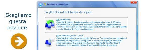 installazione windows 7 32 64 bit