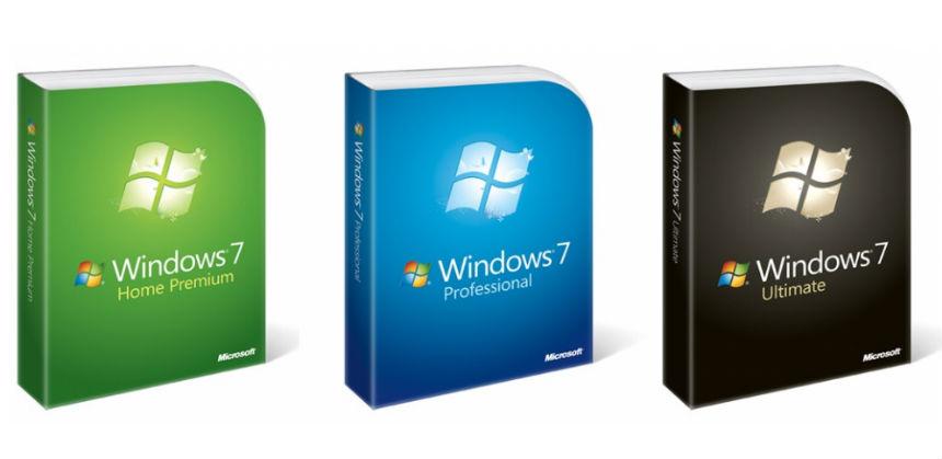 Tutte le versioni Windows 7, 32 e 64 bit.