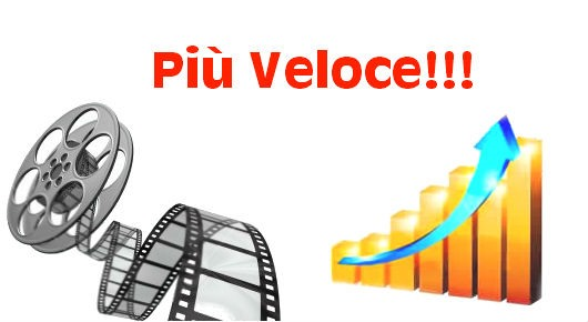 Velocizzare lo streaming dei film