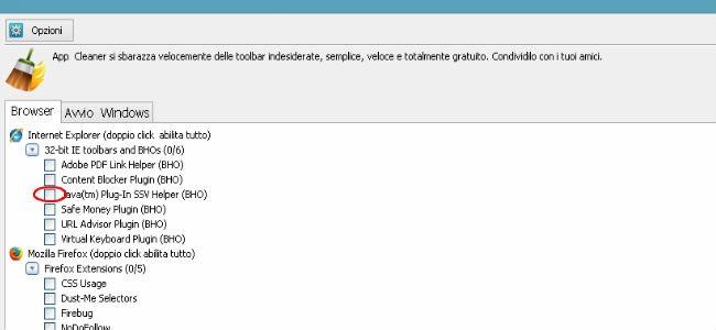 Eliminare Iminent da Chrome Firefox Internet Explorer
