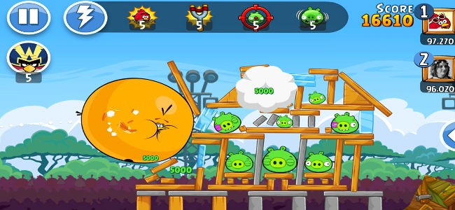 Angry Birds Friends per iphone gratis
