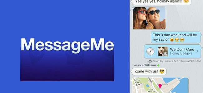 Chat gratis per Android MessageMe