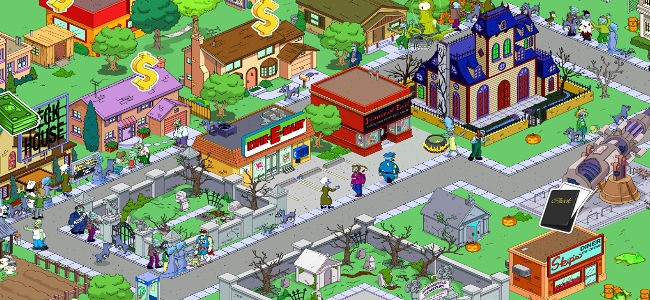 I Simpson™ Springfield per iphone gratis