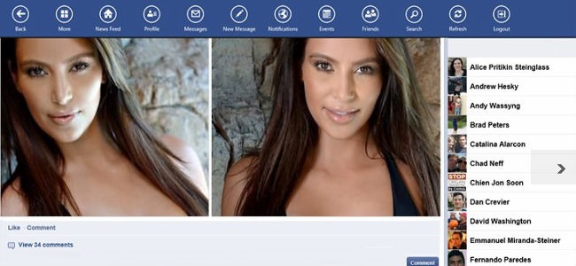 FaceBook Lite windows 8
