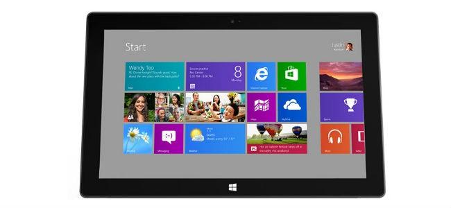 Microsoft Surface da 7 pollici