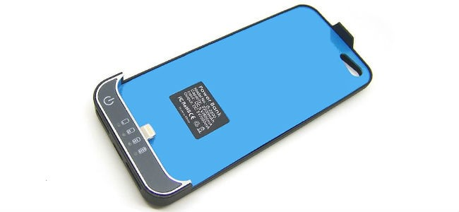 batteria e custodia per iphone 5