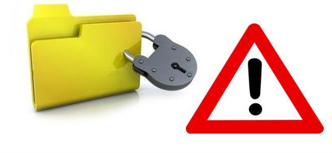 Proteggere cartella con password