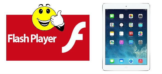 how to use flash player on iphone