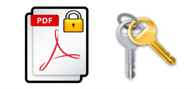 Proteggere PDF con password