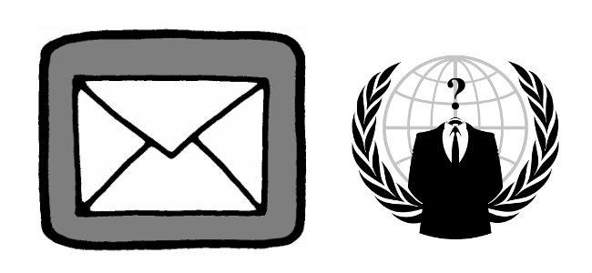 Inviare email anonime