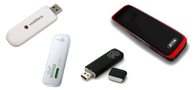 Offerte chiavette internet 3g e 4g