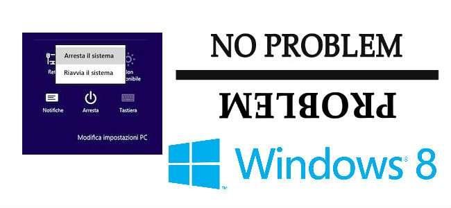 Windows 8 non si spegne correttamente