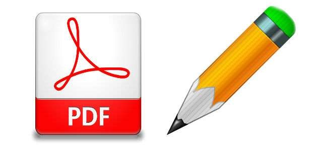 scrivere su un documento pdf