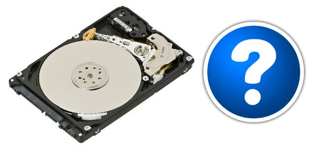 Non trovo hard disk. Come vederlo di nuovo.