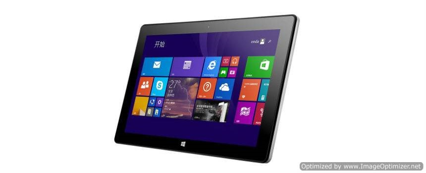 Onda V102w con Windows 8