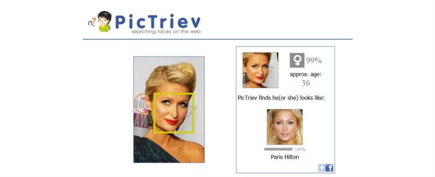 PicTriev Come trovare una persona da una foto