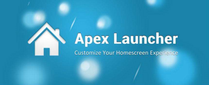 Apex Launcher versione a pagamento.