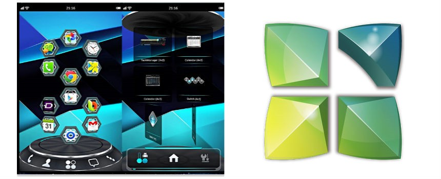 Next Launcher 3d gratis e shell.