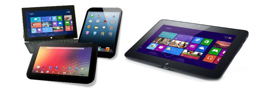 regalare un tablet per lei tecnologico.